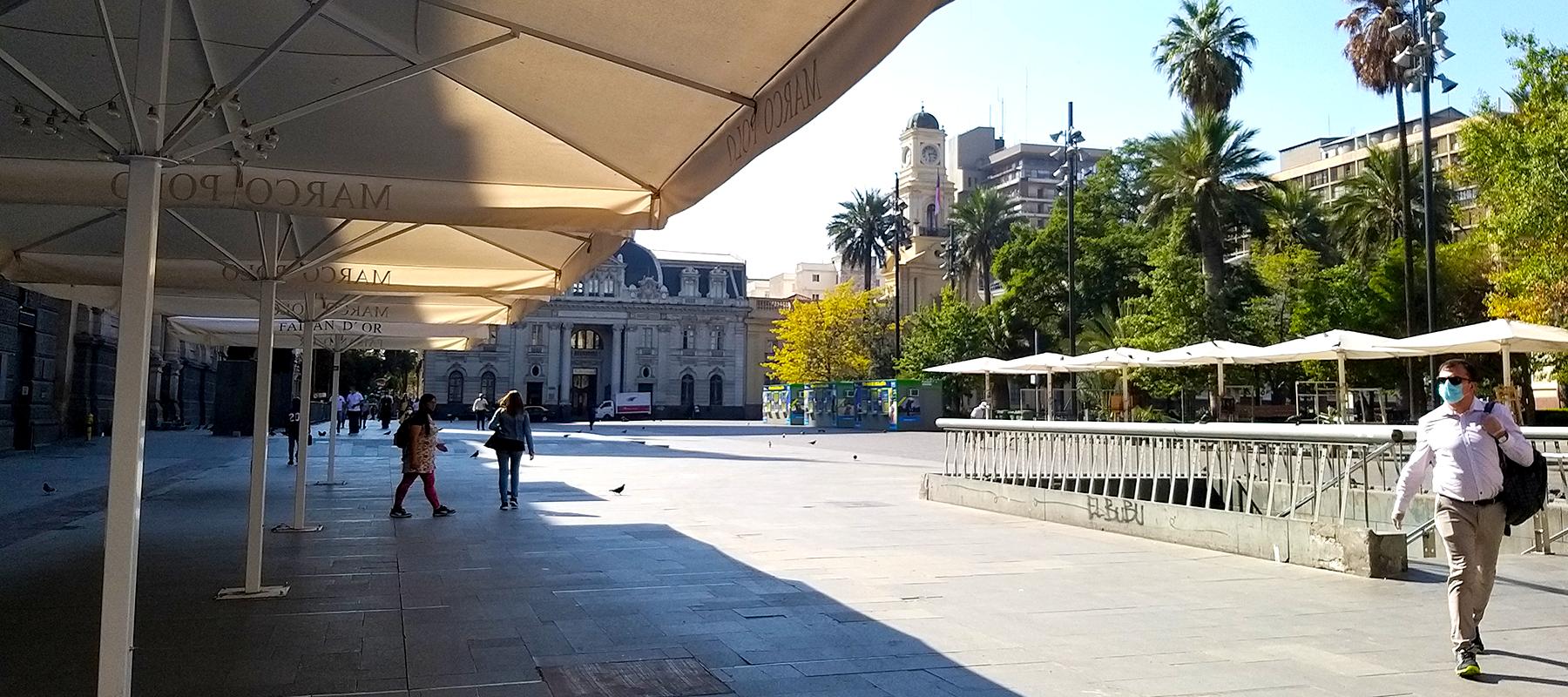 Cuarentena en Santiago Chile Covid19 2020