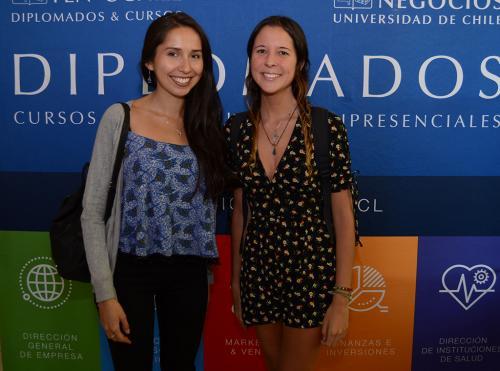 Cintia Roa y Renata Abot