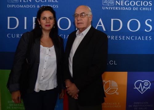 Roxana Castro y Eduardo Basualdo